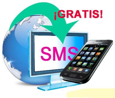 Páginas para recibir SMS de validación