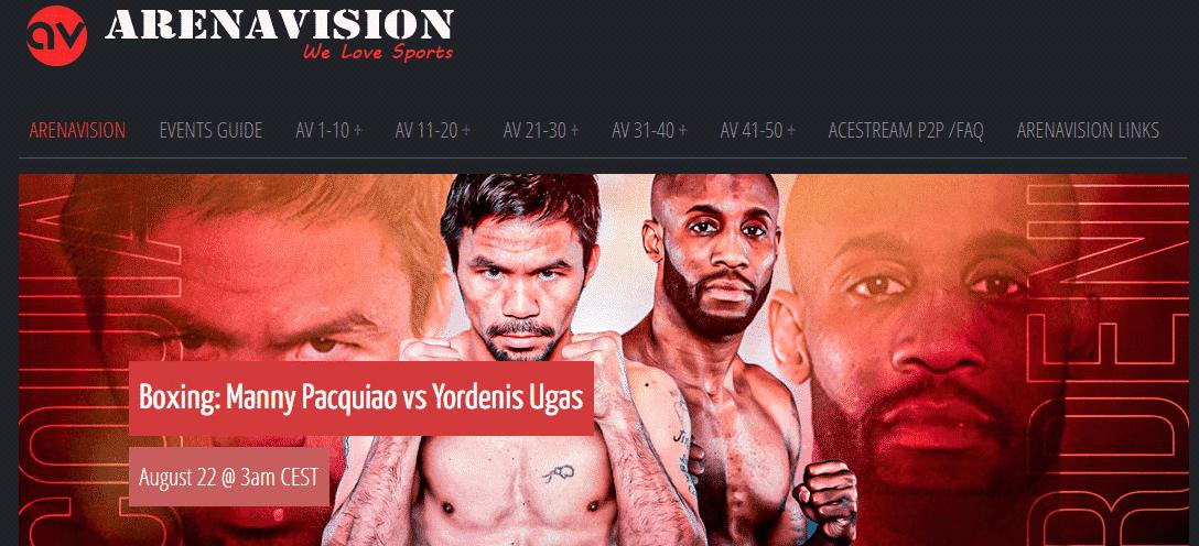 arenavision boxeo